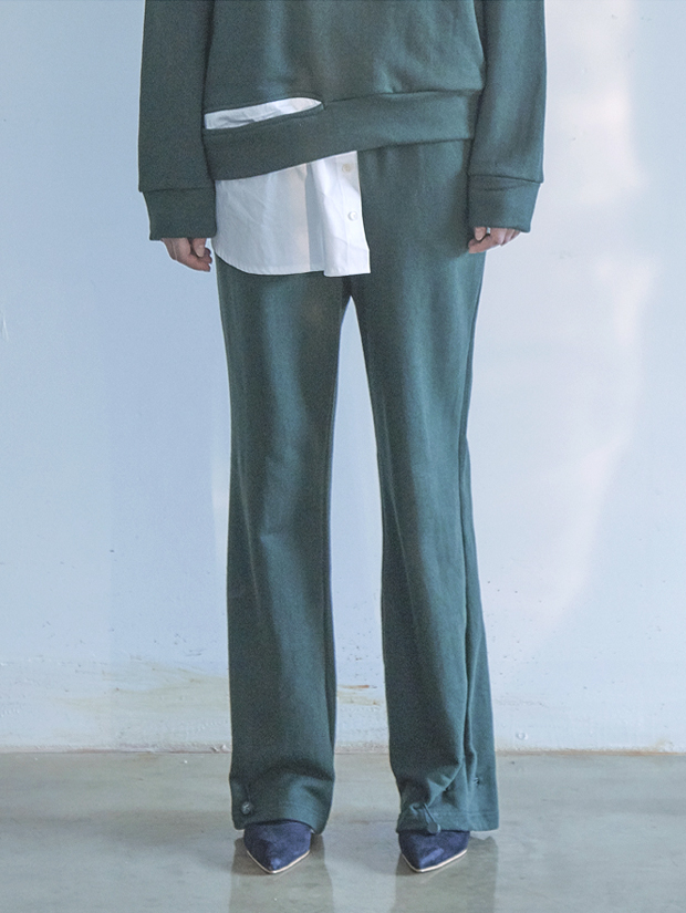 18FW STRING PANTS_GREEN