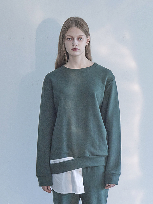 18FW SHIRT SWEAT-SHIRT_GREEN