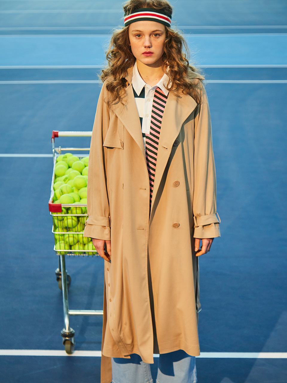 18SS STITCH TRENCH COAT_BEIGE