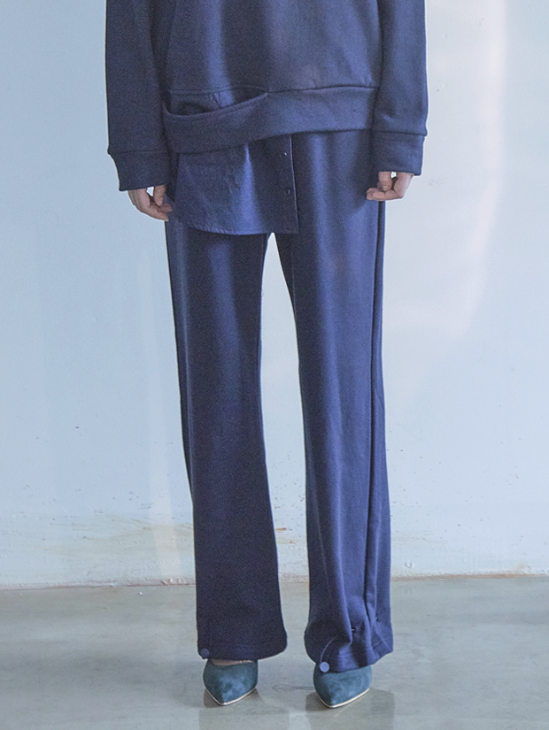 18FW STRING PANTS_NAVY