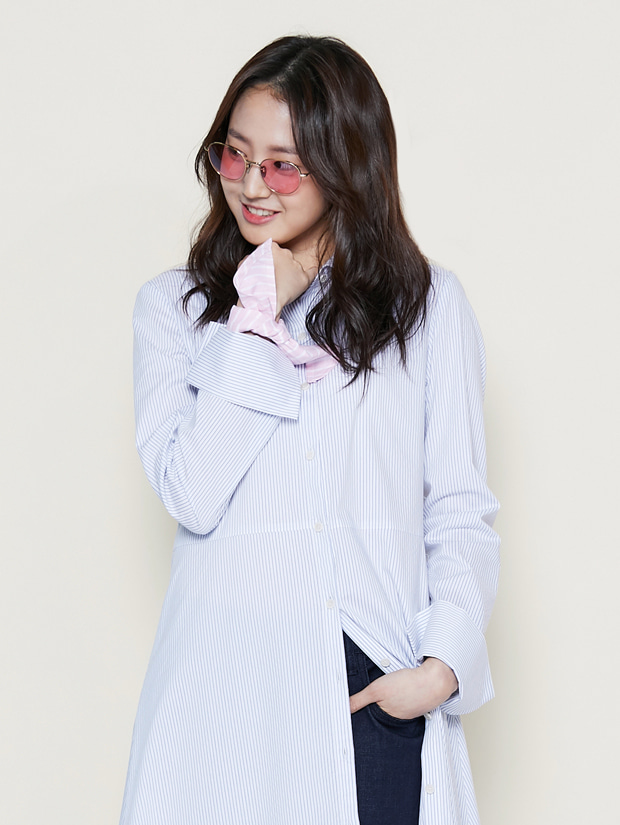 19SS SHIRT DRESS_WHITE