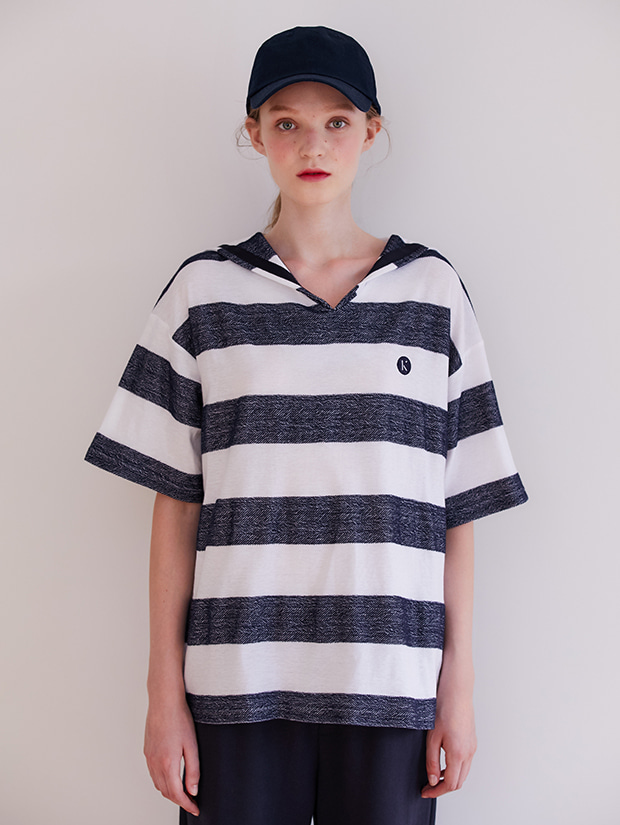 19FW PRE-FALL SAILOR STRIPE T-SHIRT_NAVY