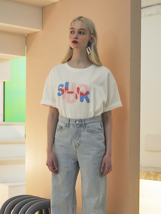 20SS 1ST K GRAPHIC T-SHIRT WHITE