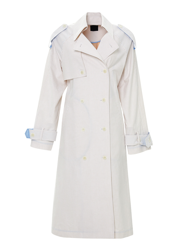 20SS 1ST BACK CUTTING TRENCH COAT BEIGE