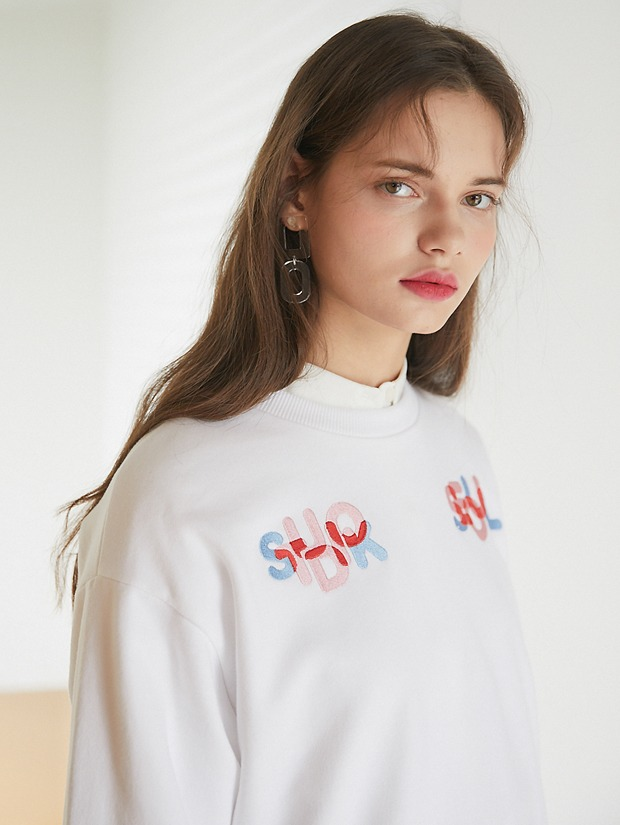 20SS 1ST SEOUL K SWEAT SHIRT WHITE