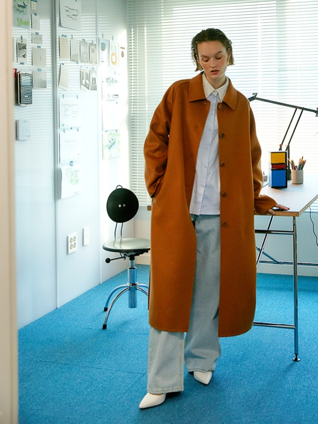 20FW GENTLE LONG COAT_CAMEL