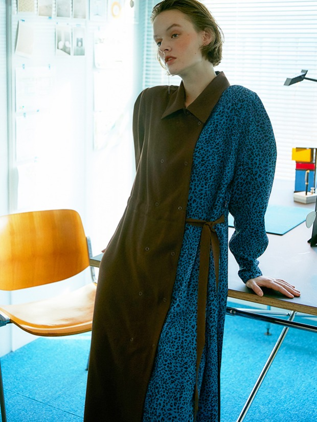 20FW COSMPOLITAN DRESS_BROWN